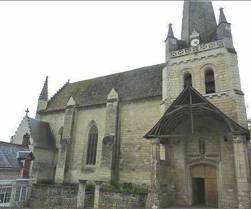 Ge86 ge86 saint sauveur eglise de la foucaudi re for Habitat de la vienne chatellerault